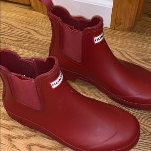 HUNDER RED RAIN BOOTS/SNOW BOOTS